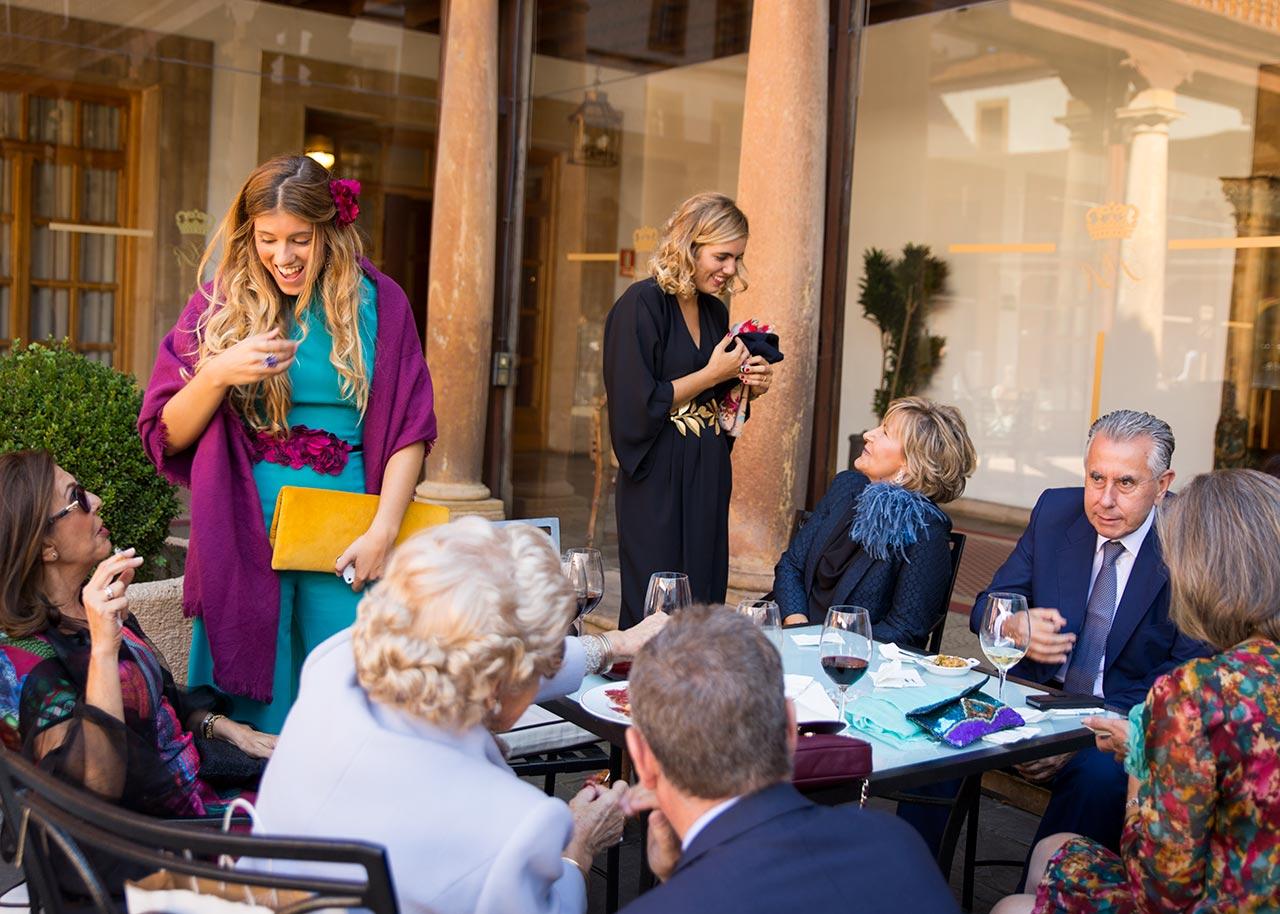 invitados boda en Oviedo hotel reconquista