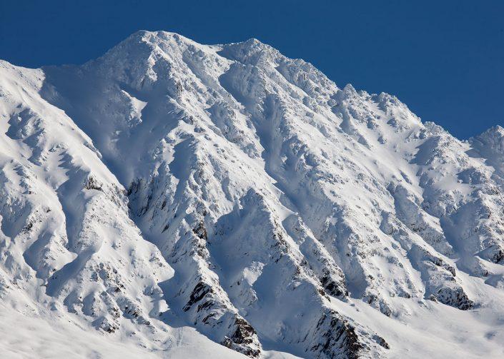 montaña nevada paisaje artiga de lin valle de aran