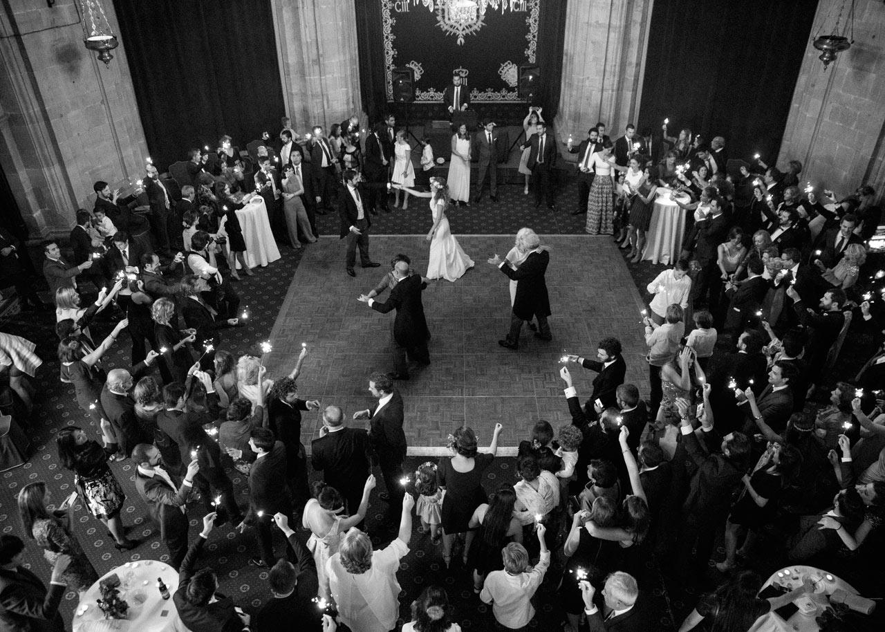 baile boda hotel de la reconquista oviedo