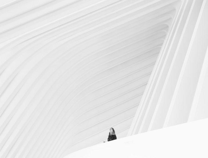 foto de arquitectura en calatrava oviedo con maria cañal