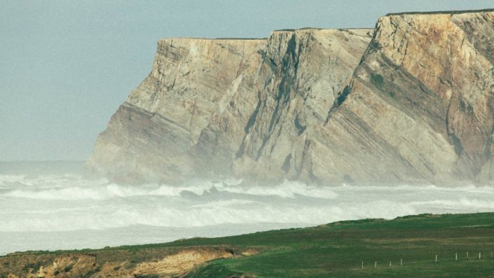foto de paisaje de asturias acantilados y mar costa asturiana