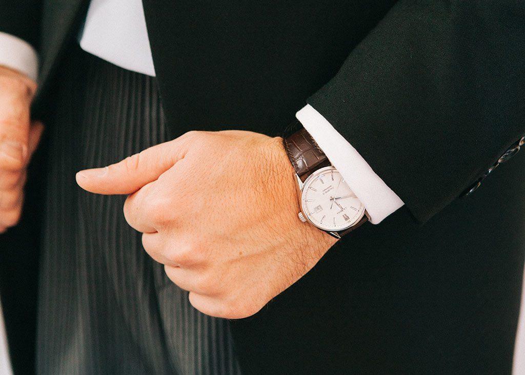 reloj pedida novio