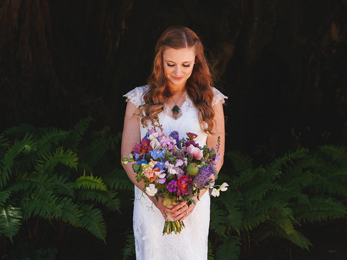 bride and bouquet wedding photographer spain