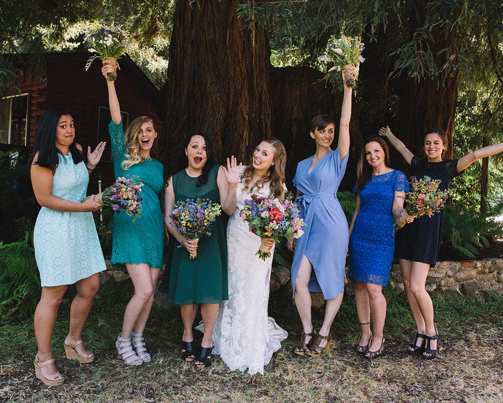boda california boda al aire libre