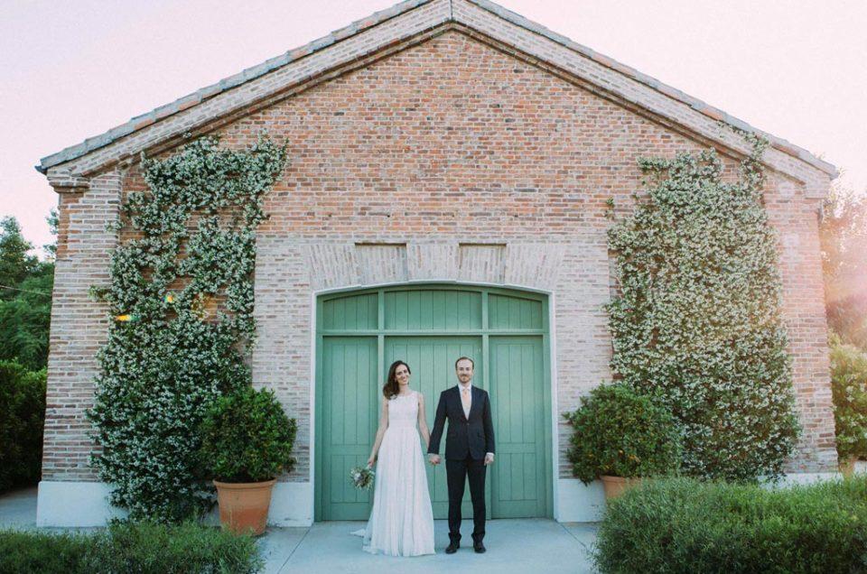 La boda de Clara y Nacho en Finca las Tenadas