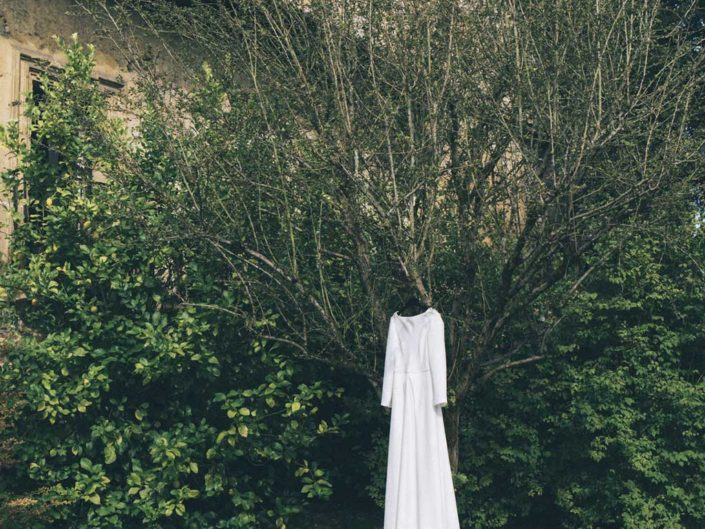 vestido de novia en el palacio de Meres boda asturias