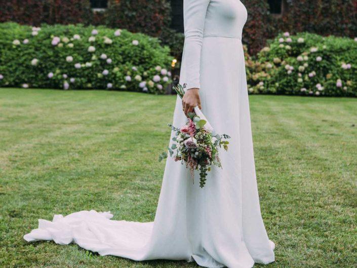 ramo de novia flores pando palacio de meres asturias