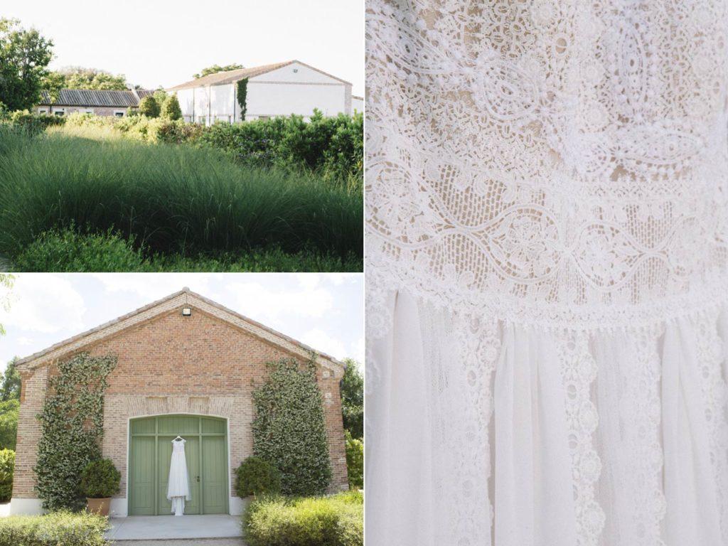 detalles y vestido boda madrid