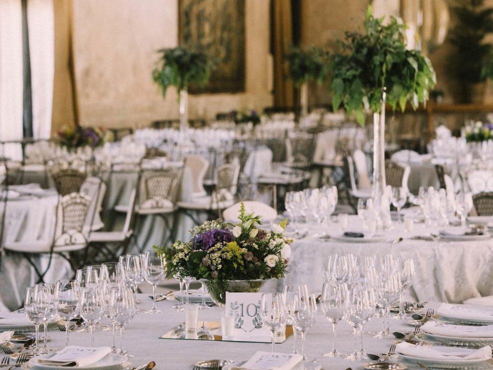 decoración mesas finca las tenadas