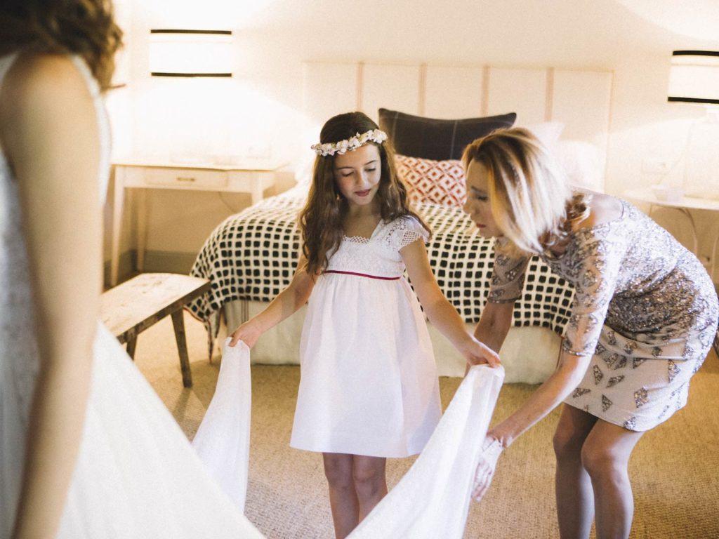 niña boda madrid