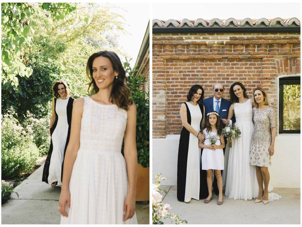 fotos de novia y familia