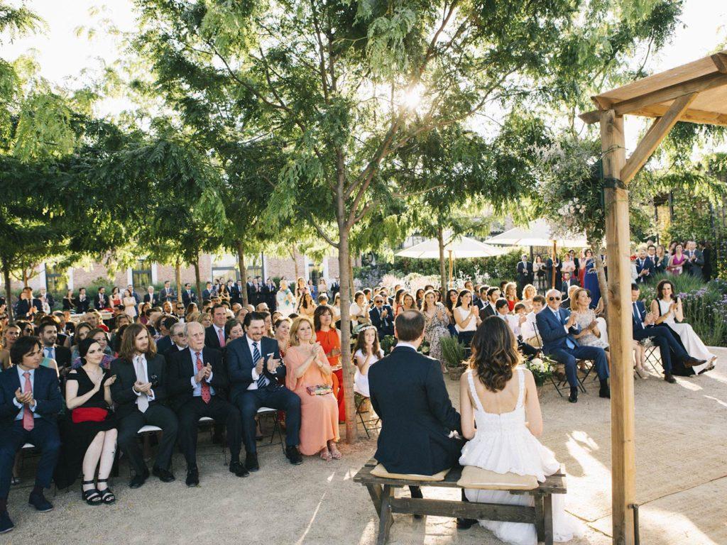 boda al aire libre en madrid