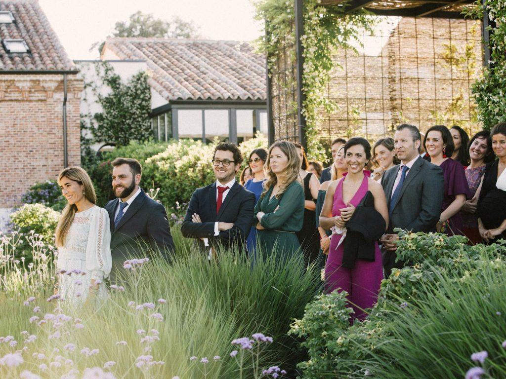 invitados boda en finca las tenadas en madrid