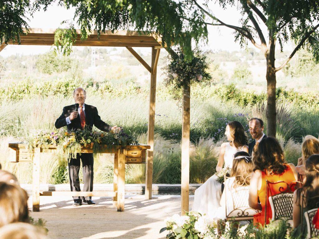 lecturas en boda en madrid al aire libre