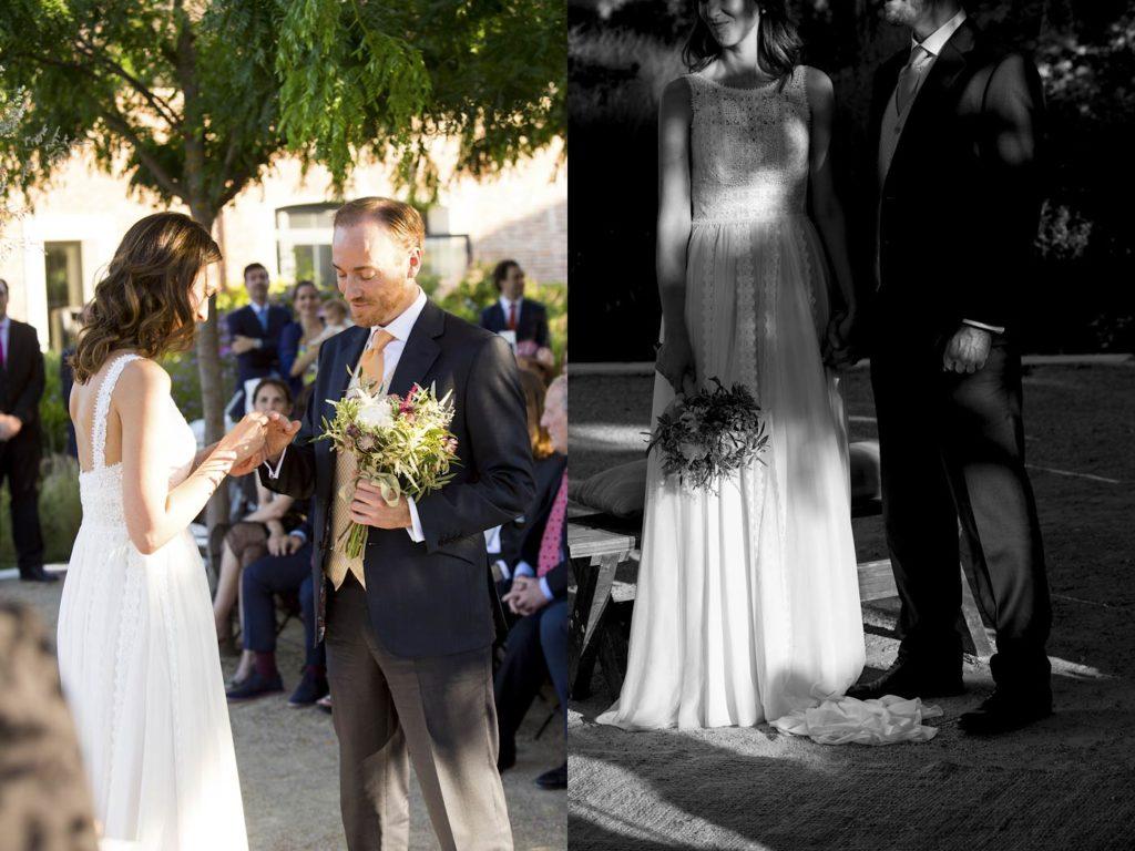 boda al aire libre aniñños